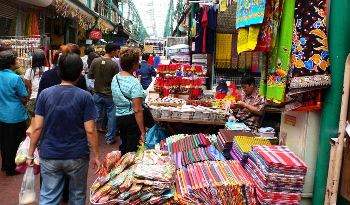 Mercado nocturno de Pat Pong | Blog Myanmar Gold